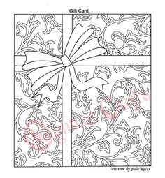 free craft patterns | Free Parchment Craft Patterns from Julie Roces