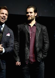 """Henry Cavill Photos Photos - Director Zack Snyder (L) and actor Henry Cavill at CinemaCon 2017 Warner Bros. Pictures Invites You to """"The Big Picture"""", an Exclusive Presentation of our Upcoming Slate at The Colosseum at Caesars Palace during CinemaCon, the official convention of the National Association of Theatre Owners, on March 29, 2017 in Las Vegas, Nevada. - CinemaCon 2017 - Warner Bros. Pictures Invites You to 'The Big Picture'"""