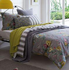 Sheridan Nerina jade reversible bed linen range - House of Fraser