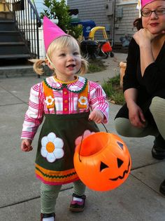 thinking of adding a little but of trim to her Halloween costume – Modern Kiddo