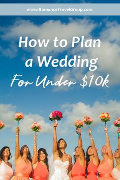 Affordable wedding options start here. Click here to learn how you can plan a wedding for under $10k. Affordable destination wedding options with Romance Travel Group. #engaged #bridetobe #affordableweddings Wedding Advice, Wedding Planning Tips, Budget Wedding, Wedding Blog, Wedding Ideas, Couples Resorts, Dreams Resorts, Mexico Resorts, Chalkboard Wedding