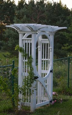 1000 images about garden arbor on pinterest garden for Gate arbor plans