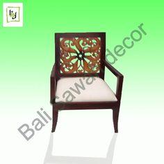 Carving Chair by Bali Sawah Decor