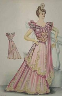 1000 images about 1890s fashion plates etc on pinterest fashion