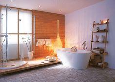 Holzelemente, gute Farben, Bodenfarbton gut