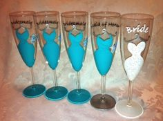For the pre-wedding ONE glass of champagne to calm the nerves wedding-ideas-for-a-distant-time