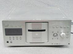 Sony DVP-CX777ES Disc Explorer 400 Disc Changer ES CD DVD Player Silver