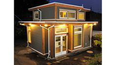 Smallworks {Studios/Lanway Housing Inc.} --- This site is great for gushing over tiny house plans!