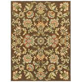 520 for 8x10 Found it at Wayfair - Melrose Chestnut Avalon Garden Rug