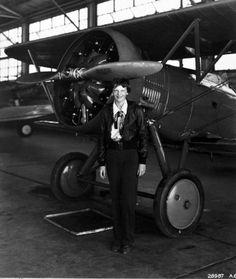 Amelia Earhart, 7/30/1936