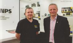 Nikon Owner magazine, issue XLV, page 34:  The concept & ideas behind the new Nikon School, a Centre of Excellence in London, by Michael Eleftheriades  left to right: Neil Freeman, Jeremy Gilbert