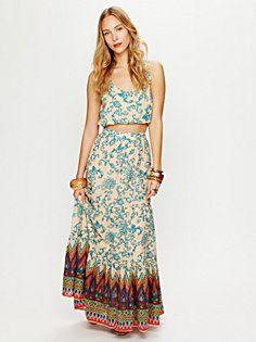 Sunrise Printed Maxi Skirt