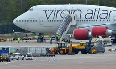 05/02/2015 - Virgin flight to Florida forced to turn around and make emergency landing in Manchester after crew smell burning on the flight deck