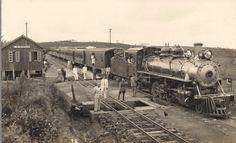Belo registro da estação de Calogeras, na região de W. Braz. Idos de 1920. Autor desconhecido. Acervo: JLVT.