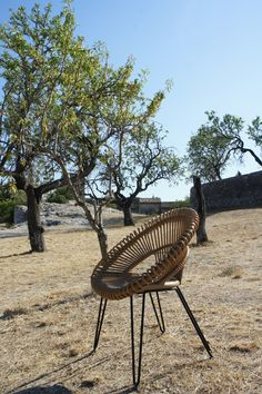 Provence, Eygalières. Curly chair, summer 2013 Outdoor Chairs, Outdoor Furniture, Outdoor Decor, Provence, Curly, Summer, Pictures, Home Decor, Photos