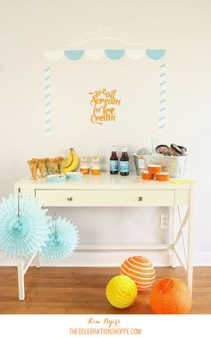 Host An Ice Cream Party, A Perfect Kick-Off To Summer
