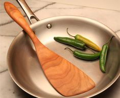 Handmade wooden spatula kitchen utensil for by KitchenCarvings, $23.00