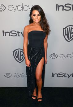 Actor Lea Michele attends the 2018 InStyle and Warner Bros. 75th Annual Golden Globe Awards Post-Party at The Beverly Hilton Hotel on January 7, 2018 in Beverly Hills, California.