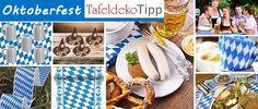 Tafeldeko Tipp Oktoberfest: Traditionelle Tischdeko im bayrischen Stil