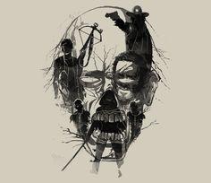 Dead Walker. @teefury