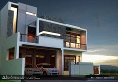 Contemporary House Design | By BILAL KHAN Architects -10 Marla House