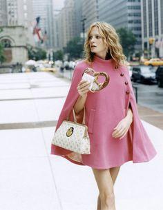 pretty pink cape