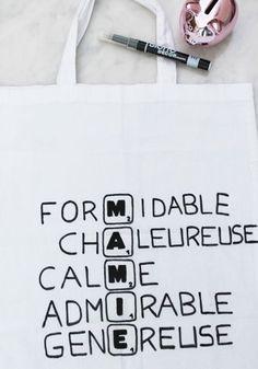 Fête des grands-mères : le tote bag scrabble