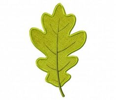 2a784935c7f Stitch out this autumn oak leaf machine embroidery design and watch the  leaves turn with your projects!