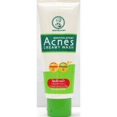 Acnes Mentholatum CreamFoam 100 G. by Mentholatum. $19.01. - Acnes Mentholatum Creamfoam  - Size 100g  - That is suitable for acne treatment  To lose a blister of pimple