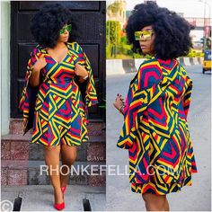Fashionable, Stylish, and Exquisite Ankara Styles! Checkout How Fashionistas Are Rocking Their Amazing Pieces - Wedding Digest Naija African Attire, African Wear, African Women, African Dress, African Style, African Outfits, Next Fashion, Fashion Outfits, Style Fashion