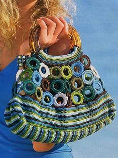 Marvelous Crochet A Shell Stitch Purse Bag Ideas. Wonderful Crochet A Shell Stitch Purse Bag Ideas. Crochet Shell Stitch, Crochet Tote, Crochet Handbags, Crochet Purses, Knit Crochet, Knitting Designs, Knitting Patterns, Crochet Patterns, Handmade Handbags