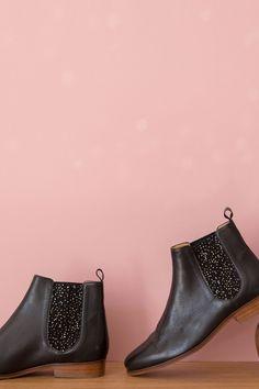 Des petits hauts - Chaussures laudine noire 170€