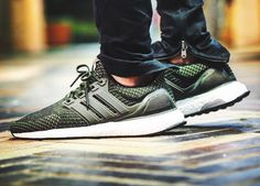Adidas Ultra Boost 3.0 Military Green - 2016 (by anson1019)
