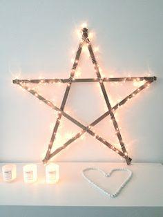 ster met lichtjes - star - xmas