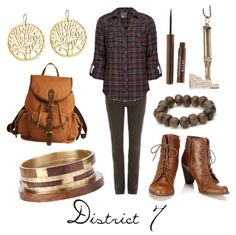 Hunger Games: District 7 style, my district!!! And I would actually wear these things, it's a miracle!!!