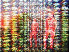 """Saatchi Art Artist David  K Collins; Painting, """"Eden 2"""" #art"""