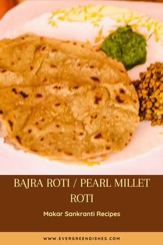 Sajje Rotti Recipe | Pearl millet Roti | Bajra Roti Amazing Recipes, Great Recipes, Sweet Pongal Recipe, Indian Flat Bread, Millet Recipes, Makar Sankranti, Friend Recipe, Indian Breakfast