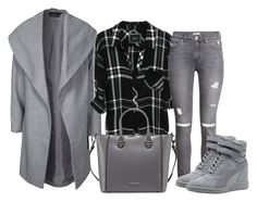 """""""Bez naslova #3512"""" by ramayanna ❤ liked on Polyvore featuring ONLY, H&M, Puma and Charles Jourdan"""