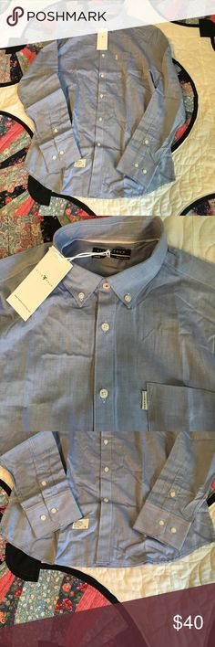 🎉HP!🎉 NWT Five Four Men's button down blue shirt 🎈 Host Pick for 5/19! 🎈NWT Five Four Men's button down blue collar shirt. Brand new. Light blue color. Five Four Shirts Casual Button Down Shirts