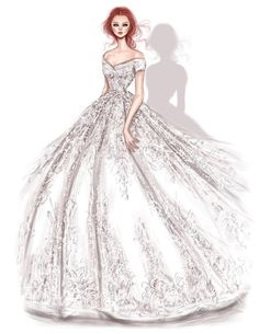 @shamekhbluwi #RamialaliOfficial #Bridal #FashionIllustrations |Be Inspirational ❥|Mz. Manerz: Being well dressed is a beautiful form of confidence, happiness & politeness