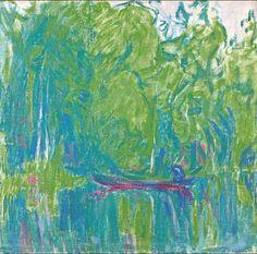 Ellen Thesleff (Finnish, 1869 – A Landscape from Murole, 1912 Oil on canvas, 44 x 47 cm Abstract Digital Art, Abstract Art, Landscape Art, Landscape Paintings, Define Art, Oil Pastel Paintings, Digital Museum, Collaborative Art, Female Art