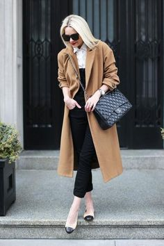 In a Mid-Winter Fashion Rut? Here are Easy and Stylish Ways to Refresh Your Winter Wardrobe! Maxi Outfits, Fashion Outfits, Womens Fashion, 2000s Fashion, Chanel Fashion, Fashion Ideas, Chanel Ballerina Flats, Chanel Ballet Flats, Chanel Maxi