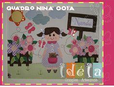 IDEIA Quadro Nina Jardim / Cód:NINA 001
