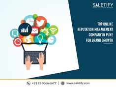 Saletify is the leading digital marketing agency in Pune and an expert in online reputation management. Employing tactics like search alerts, complaint tracing, customer review tracking, etc. we ensure your brand's digital success. To secure brand growth, connect now. Reputation Management, Brand Management, Management Company, Pune, Internet Marketing, Connect, Digital Marketing, Success, Search