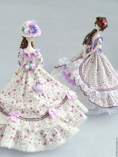 Купить Текстильная кукла.Тряпиенс. Арина - сиреневый, тряпиенсы, тряпиенса, тряпиенс, корейские тряиенсы ♡