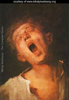 Munkacsy: Yawning Apprentice