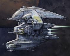 ArtStation - Nexus Spaceship concepts, Károly Gőgös
