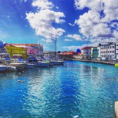 Taking in the rainbow colours of Bridgetown (there aren't enough heart eye emojis in the world for this shit) Need A Vacation, Dream Vacations, Vacation Spots, Greece Vacation, Barbados Resorts, Barbados Travel, Visit Barbados, Santa Lucia, Places To Travel
