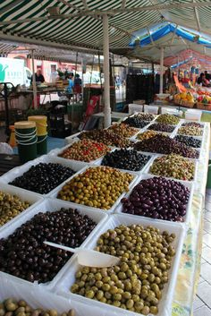 Olives, Nice, France : Been. Want to Return. France Europe, South Of France, France Travel, Monaco, Easy French Recipes, Small Goat, Barcelona, Dream Trips, Fresh Market