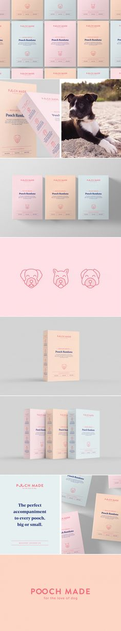Pooch Made Was Made With Your Beloved Pets in Mind — The Dieline   Packaging & Branding Design & Innovation News